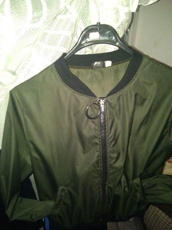 Женский ромпер, лёгкая курточка плащевка