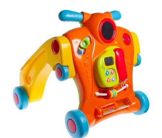 Baby Walker Smiki - 2w1 (super zabawka edukacyjna)