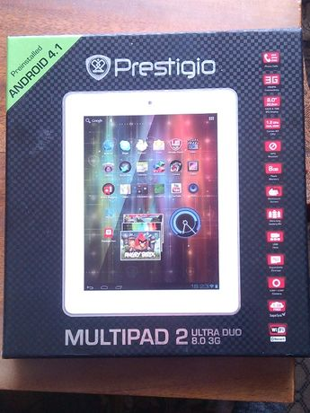 планшет PRESTIGIO MULTIPAD 2ultra duo 3G-звонящий