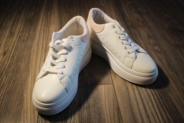 Sprzedam NOWE białe sportowe buty marki DeeZee! rozmiar 39!