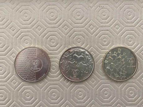 Moedas comemorativas Euro 2004 - prata