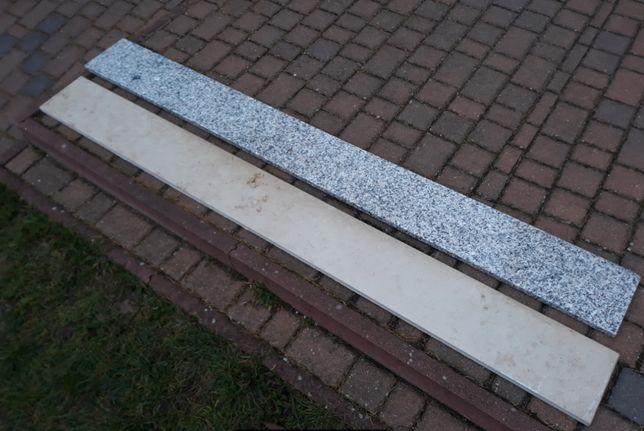 Parapet, parapety z marmuru 200cm. x 20cm. x 2 cm.