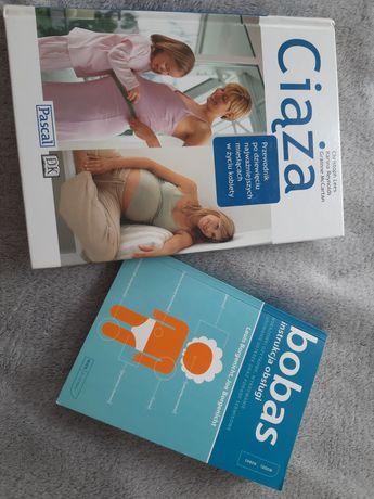 Ciąża,  bobas instrukcja obsługi.  Książki dla przyszłej mamy