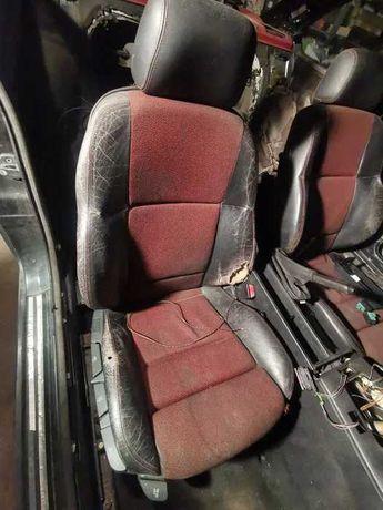 Fotele sportsitze BMW E36 sporty półskóra