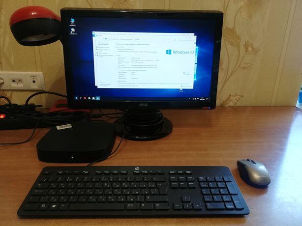 компьютер (тонкий клиент) HP T530, с МОНИТОРОМ ASUS 203