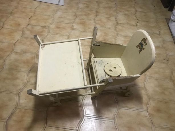 Cadeira de bebe antiga vintage