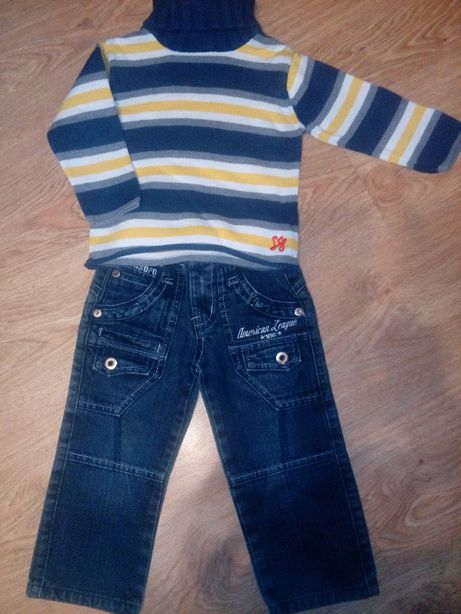 Spodnie + sweterek