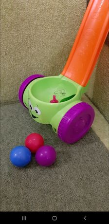 Игрушка-каталка Fisher-Price Scoop and Whirl Popper