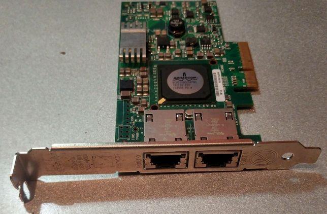 Двухпортовая гигабитная сетевая карта 2х1000Мбит 2х1Гбит PCI-Express