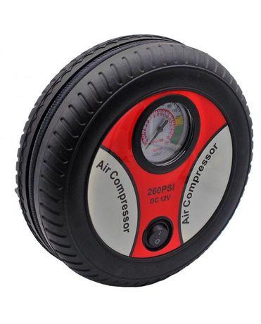Мощный Автокомпрессор для Быстрой подкачки колес Air Compressor DC12V.