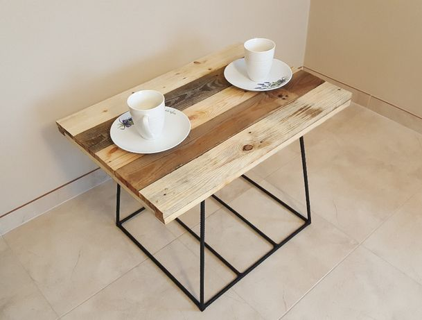 Stolik kawowy/stół vintage loft industrial