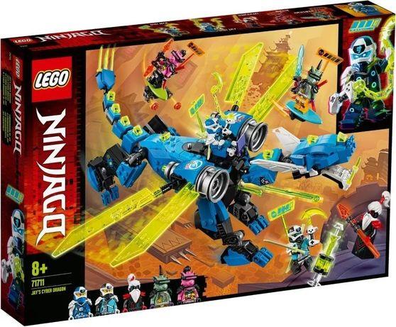 Lego 71711 Ninjago Cybersmok Jaya - nowy!