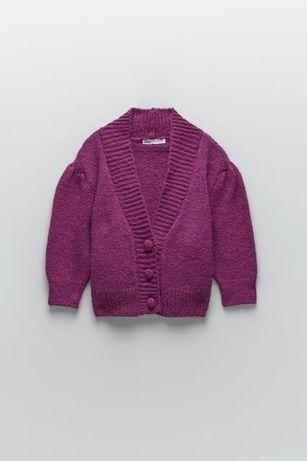 Zara L nowy poszukiwany sweterek kardigan z guzikami
