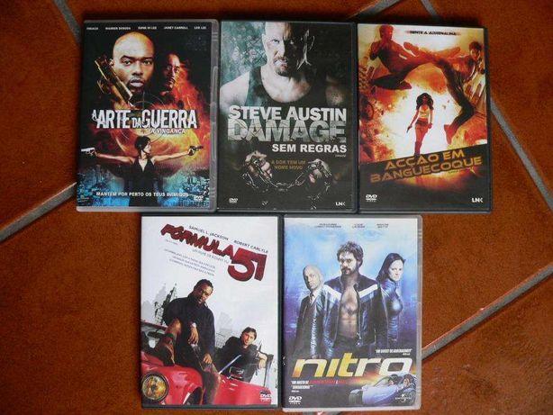 Pack de 5 filmes DVD originais