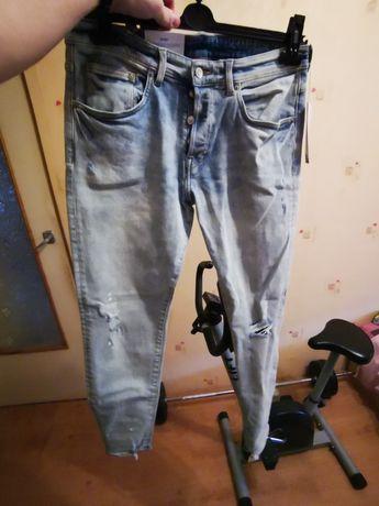 Nowe spodnie jeansowe H&H