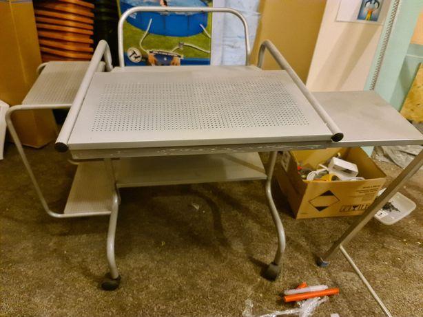 stolik pod komputer metalowy Ikea