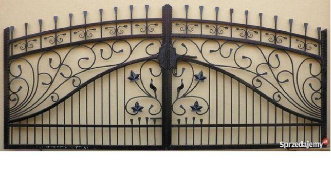 Brama wjazdowa wzór 21 Promocja Świąteczna