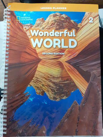 Wonderful World 2 - Lesson Planner + płyty CD wyd. National Geographic