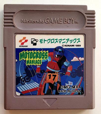 Motocross Maniacs Gra na Nintendo GameBoy Game Boy Konami