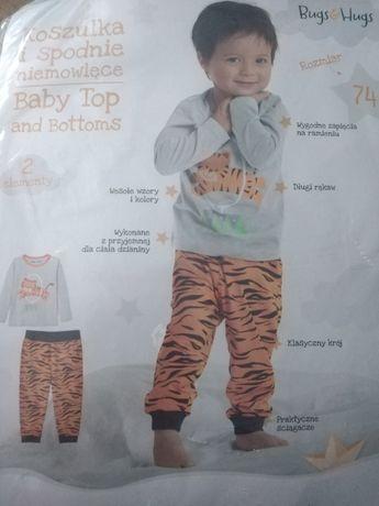 Zestaw bluzka i spodnie 74