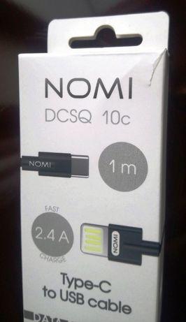 "USB кабель ""Nomi"" data+charger"