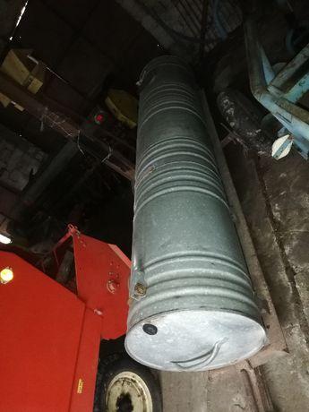 Beczka ocynk na wodę 1000 l na podwoziu stalowym