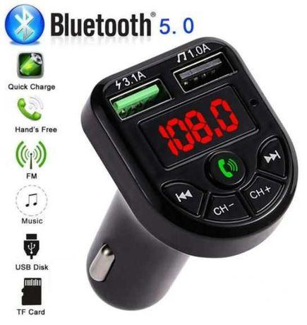 Carro - FM Kit Bluetooth mãos livres (entrada isqueiro)