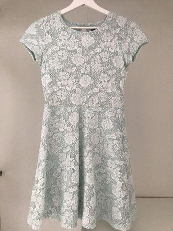 Mietowa sukienka 158