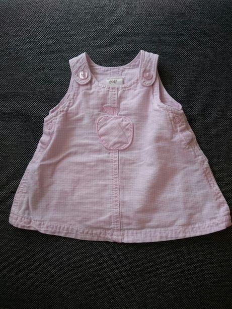 Różowa SukienKa H&M 50 HM