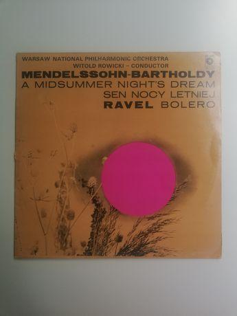 """Mendelssohn-Bartholdy/Ravel """"Sen Nocy Letniej/Bolero"""" - winyl"""