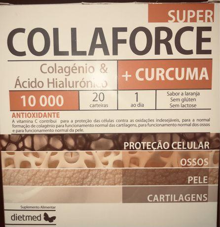 Colágenio e Ácido Hialurónico+ Cúrcuma