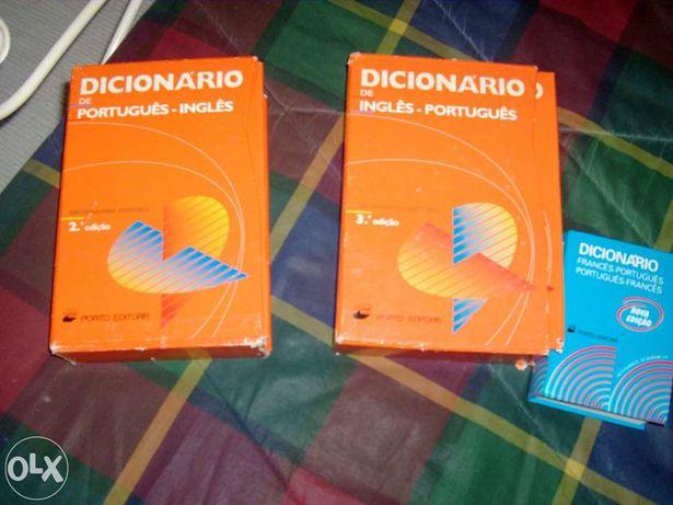 Vendo dicionários de Ingles e Frances
