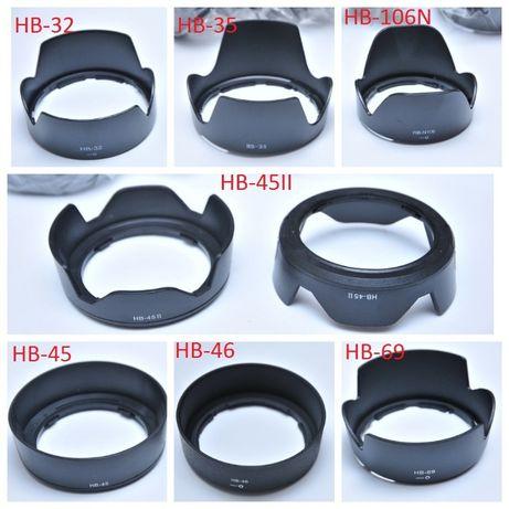 Бленда для объектива Nikon HB-32/HB-35/HB-45/HB-46/HB-47/HB-69/HB-N106