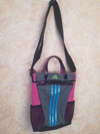 Adidas torba  torebka sportowa na ramię z rączkami