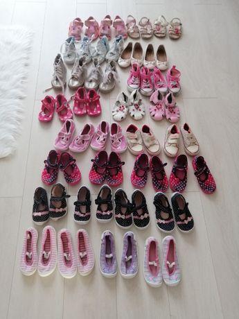 Buty w rozmiarach 22, 23, 24, 25, 26, 27 Pantofle dla bliźniaczek