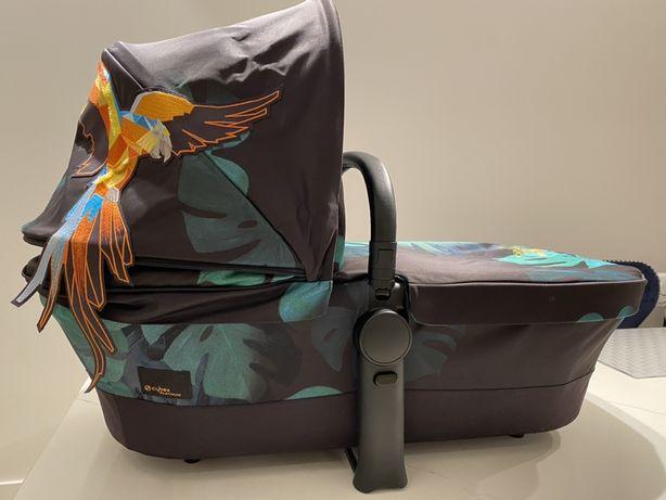Люлька на коляску Cybex priam birds of paradise