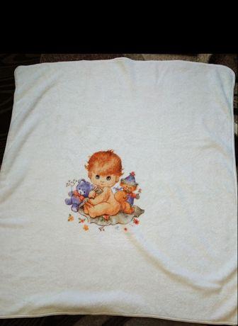 В роддом плед одеяло детское