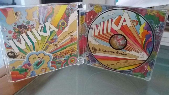 Mika-life in cartoon motion