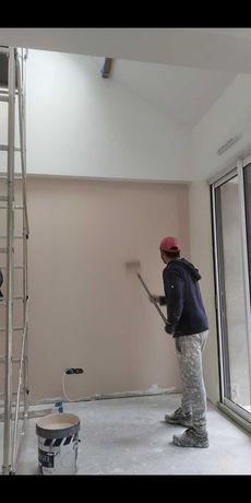 Pinturas, pladur,piso flutuante