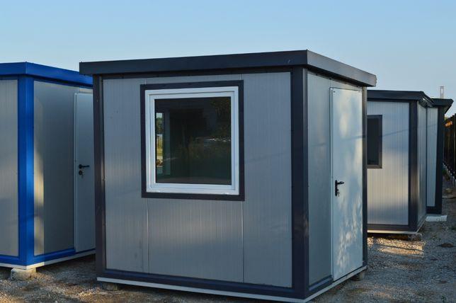 Kontener ocieplany biurowy biuro socjalny stróżówka kiosk barak domek
