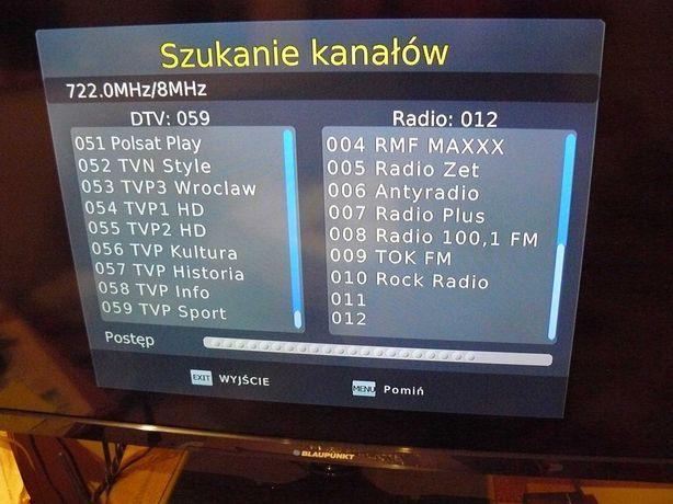 Dekoder telewizji naziemnej WiWa Hd 80 hdmi euro Usb audio