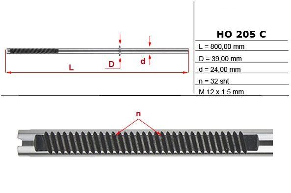 Listwa zębata przekładni kierowniczej Honda Accord 2003-07
