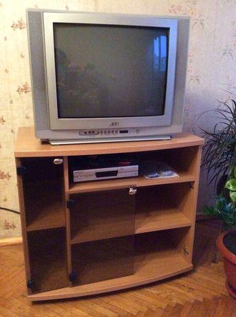 Мультисистемный 21-дюймовый телевизор JVC (с декодером)