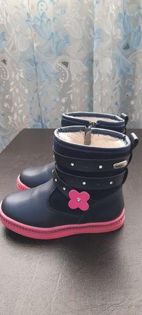 Детская обувь девочка дитяче взуття зима