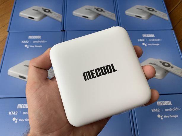 Smart TV Box Приставка Mecool KM2 2/8 Netflix 4K Dolby Audio Android T