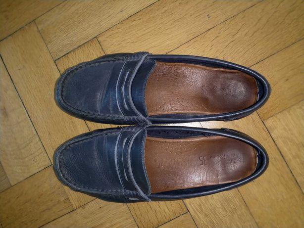 Buty mokasyny Zara rozmiar 35 chłopięce