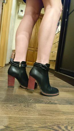 Ботинки чёрные удобные очень