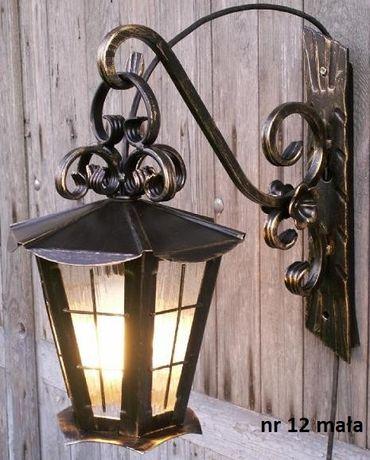 Lampa Kuta Ogrodowa wisząca piękna ozdoba ogrodu domu PRODUCENT !!!
