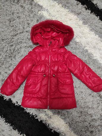 Зимова куртка плащ пуховик