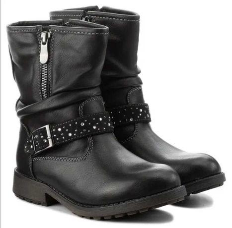 Сапоги ботинки демисезонные евро зима 32 размер Magik Lady